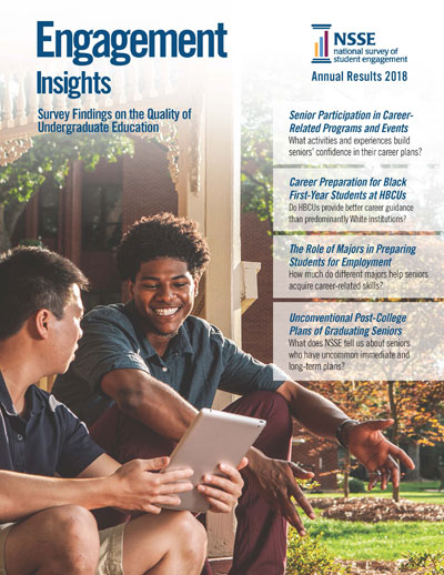 Cover of the 2018 NSSE Annual Results